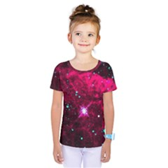 Pistol Star And Nebula Kids  One Piece Tee