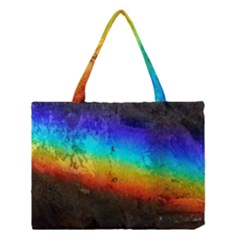 Rainbow Color Prism Colors Medium Tote Bag by Amaryn4rt