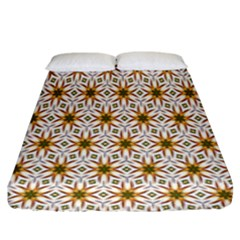 Seamless Wallpaper Background Fitted Sheet (king Size) by Amaryn4rt