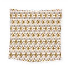 Seamless Wallpaper Background Square Tapestry (small)