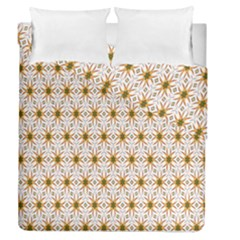 Seamless Wallpaper Background Duvet Cover Double Side (queen Size) by Amaryn4rt