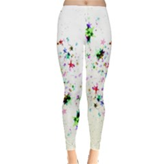 Star Structure Many Repetition Leggings  by Amaryn4rt