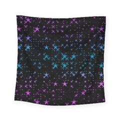 Stars Pattern Seamless Design Square Tapestry (small) by Amaryn4rt