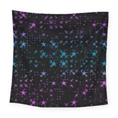 Stars Pattern Seamless Design Square Tapestry (large) by Amaryn4rt
