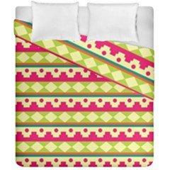Tribal Pattern Background Duvet Cover Double Side (california King Size) by Amaryn4rt