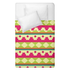 Tribal Pattern Background Duvet Cover Double Side (single Size) by Amaryn4rt
