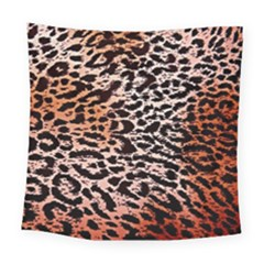 Tiger Motif Animal Square Tapestry (large)