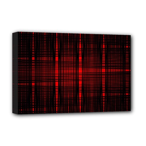 Black And Red Backgrounds Deluxe Canvas 18  X 12   by Amaryn4rt