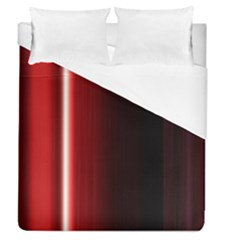 Black And Red Duvet Cover (queen Size)