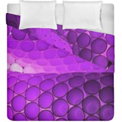 Circular Color Duvet Cover Double Side (king Size)