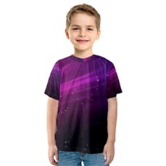 Purple Wallpaper Kids  Sport Mesh Tee