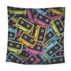 Type Pattern Square Tapestry (large)