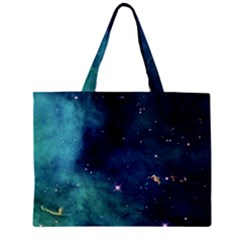 Space Zipper Mini Tote Bag by Brittlevirginclothing