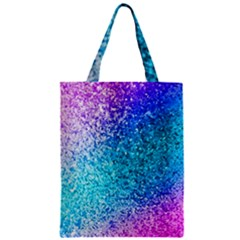 Rainbow Sparkles Zipper Classic Tote Bag by Brittlevirginclothing