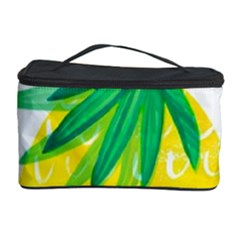 Cute Pineapple Cosmetic Storage Case by Brittlevirginclothing