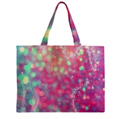 Fantasy Sparkle Zipper Mini Tote Bag by Brittlevirginclothing