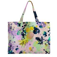 Paint Zipper Mini Tote Bag by Brittlevirginclothing
