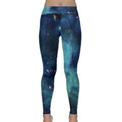 Space Classic Yoga Leggings by Brittlevirginclothing