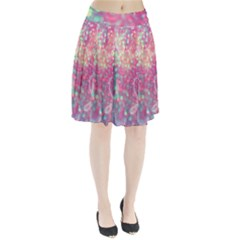 Colorful Sparkles Pleated Skirt by Brittlevirginclothing