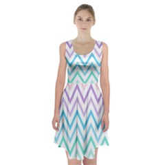 Colorful Wavy Lines Racerback Midi Dress by Brittlevirginclothing