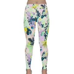 Paint Classic Yoga Leggings by Brittlevirginclothing