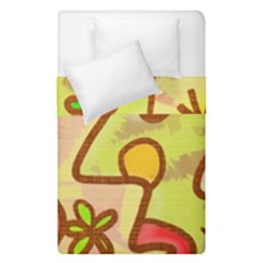 Abstract Faces Abstract Spiral Duvet Cover Double Side (single Size) by Amaryn4rt