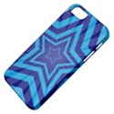 Abstract Starburst Blue Star Apple iPhone 5 Classic Hardshell Case View4