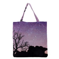 Arches National Park Night Grocery Tote Bag