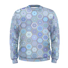 Bee Hive Background Men s Sweatshirt by Amaryn4rt
