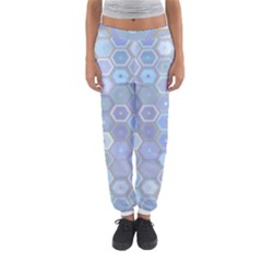Bee Hive Background Women s Jogger Sweatpants by Amaryn4rt