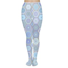 Bee Hive Background Women s Tights