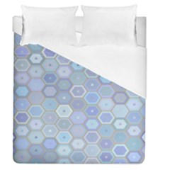 Bee Hive Background Duvet Cover (queen Size) by Amaryn4rt