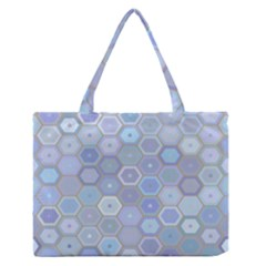 Bee Hive Background Medium Zipper Tote Bag by Amaryn4rt