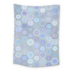 Bee Hive Background Medium Tapestry by Amaryn4rt