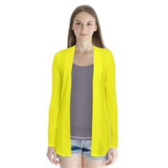 Yellow Color Cardigans