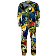 Animals Bird Onepiece Jumpsuit (men)