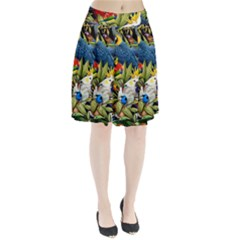 Animals Bird Pleated Skirt