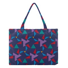Areas Of Colour Square Relative Neutrality Medium Tote Bag