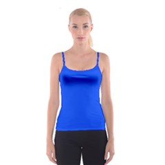 Blue Color Spaghetti Strap Top