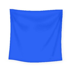 Blue Color Square Tapestry (small) by Jojostore