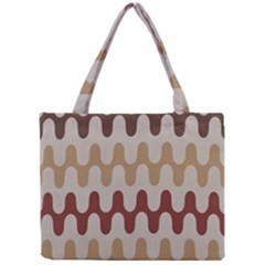 Bullard Line Fabric Chevron Wave Mini Tote Bag