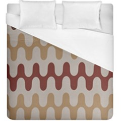 Bullard Line Fabric Chevron Wave Duvet Cover (king Size)