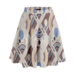 Brown High Waist Skirt