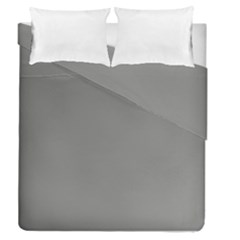 Color Grey Duvet Cover Double Side (queen Size)