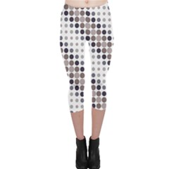 Circle Capri Leggings  by Jojostore