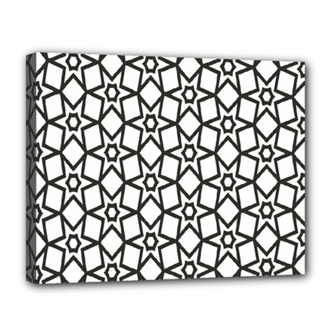 Coloring Squares Star Canvas 14  X 11  by Jojostore