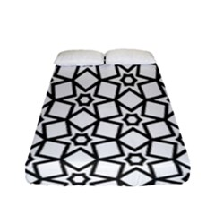 Coloring Squares Star Fitted Sheet (full/ Double Size)
