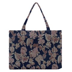 Fabrics Floral Medium Zipper Tote Bag