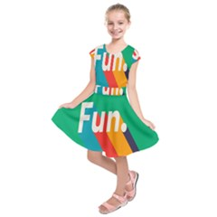 Fun Kids  Short Sleeve Dress