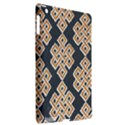 Geometric Cut Velvet Drapery Upholstery Fabric Apple iPad 3/4 Hardshell Case (Compatible with Smart Cover) View2